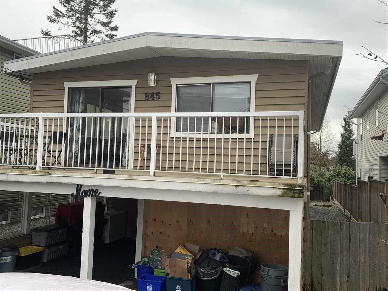Main Photo: 845 STEVENS STREET: White Rock House for sale (South Surrey White Rock)  : MLS®# R2540979