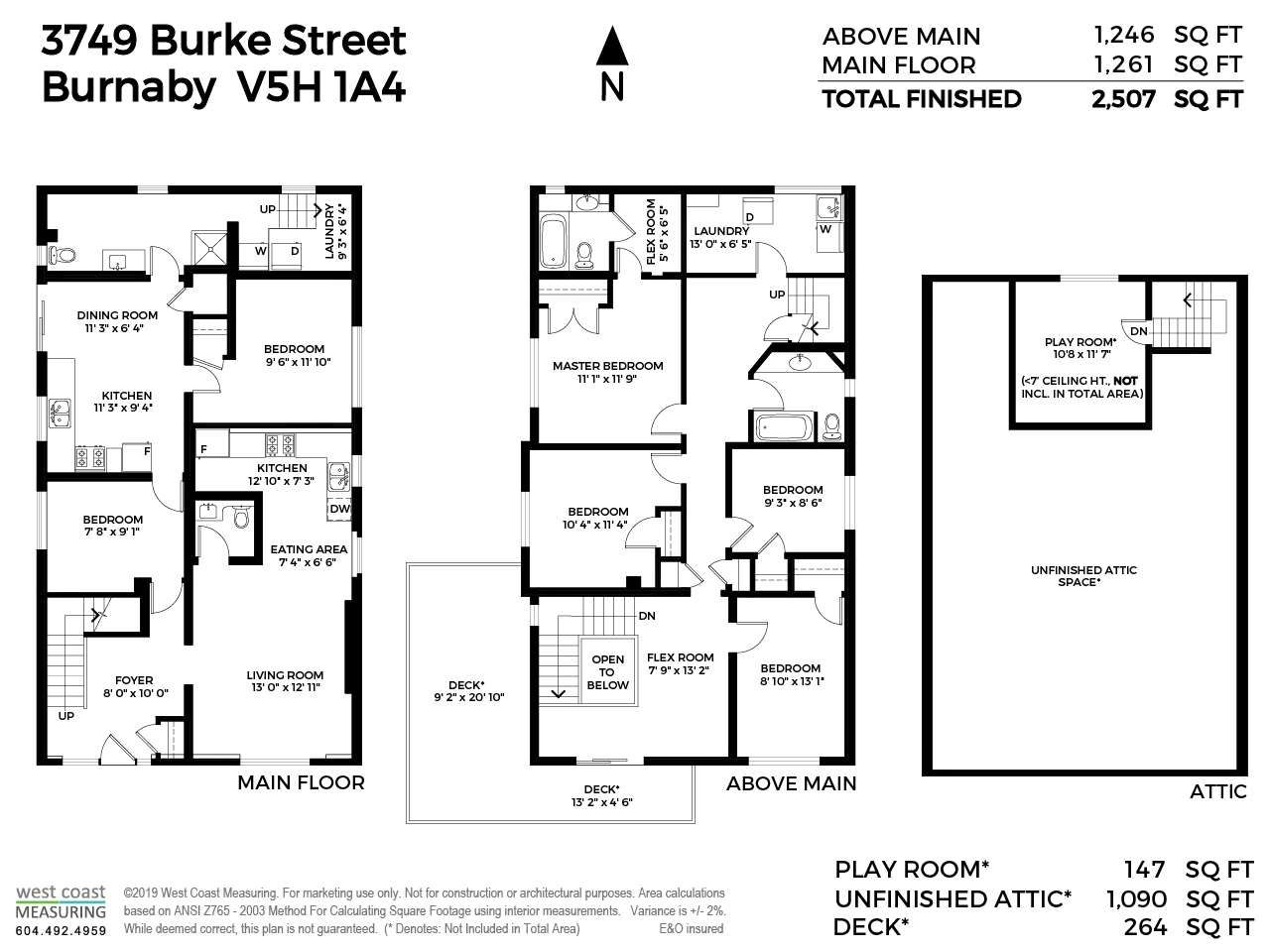 Main Photo: 3749 BURKE Street in Burnaby: Central Park BS House for sale (Burnaby South)  : MLS®# R2405401