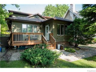 Photo 1: 321 Waterloo Street in Winnipeg: River Heights / Tuxedo / Linden Woods Residential for sale (South Winnipeg)  : MLS®# 1614223