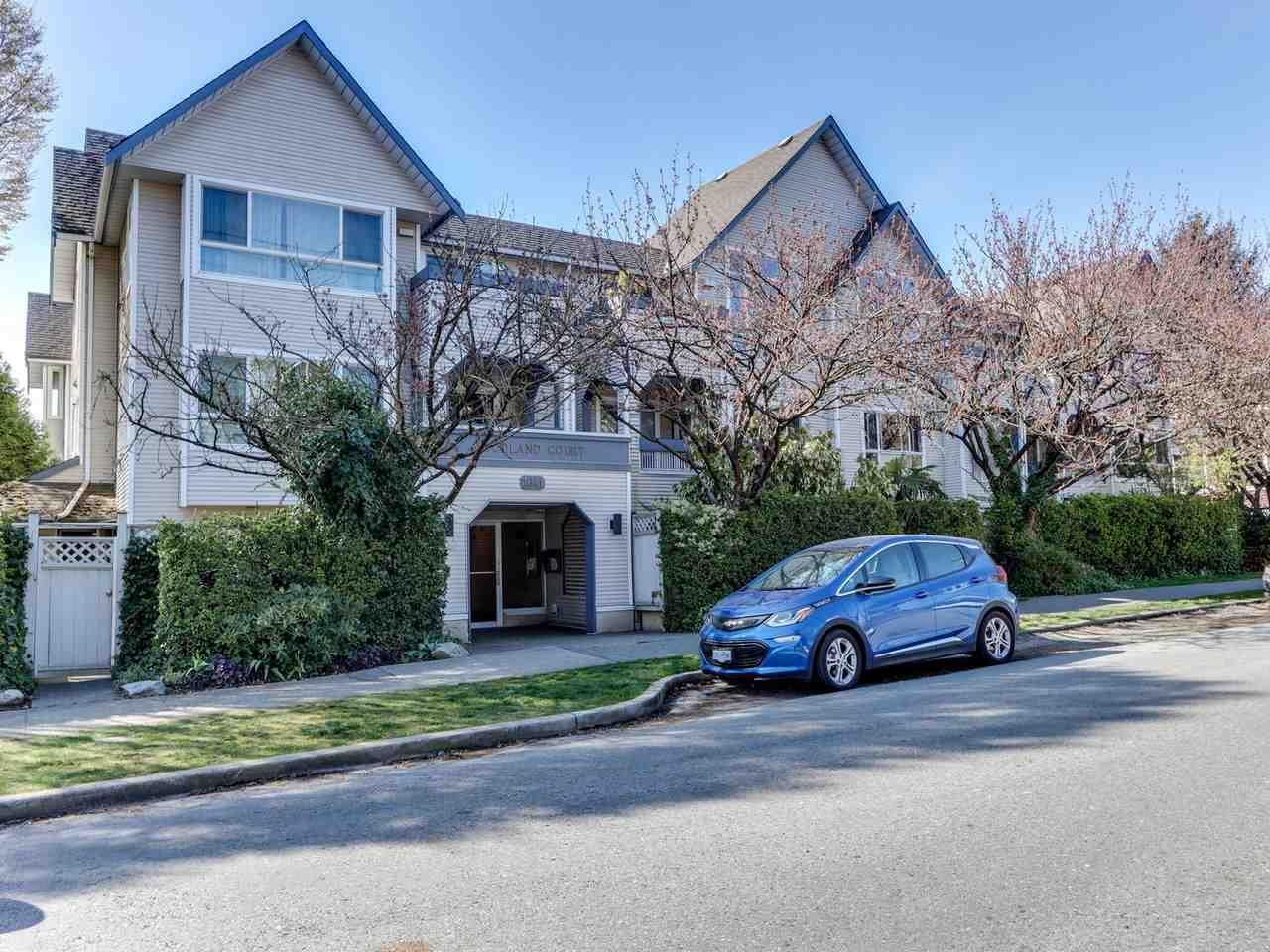 """Main Photo: 105 1641 WOODLAND Drive in Vancouver: Grandview Woodland Condo for sale in """"Woodland Court"""" (Vancouver East)  : MLS®# R2564541"""
