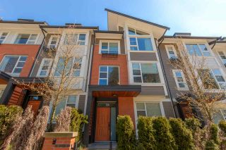 Photo 1: 4 1299 COAST MERIDIAN Road in Coquitlam: Burke Mountain Townhouse for sale : MLS®# R2156577