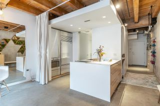 """Photo 3: 219 55 E CORDOVA Street in Vancouver: Downtown VE Condo for sale in """"KORET LOFTS"""" (Vancouver East)  : MLS®# R2560777"""