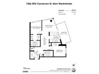 """Photo 26: 1206 892 CARNARVON Street in New Westminster: Downtown NW Condo for sale in """"Azure 2"""" : MLS®# R2609650"""