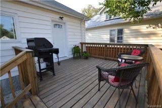 Photo 17: 313 Hampton Street in Winnipeg: St James Residential for sale (5E)  : MLS®# 1724191
