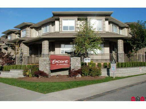 Main Photo: 172 18701 66 AVENUE in : Cloverdale BC Townhouse for sale : MLS®# F2923021