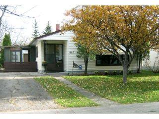 Photo 1: 463 OLIVE Street in WINNIPEG: St James Residential for sale (West Winnipeg)  : MLS®# 1021435