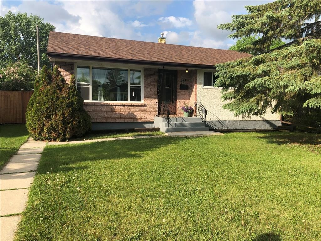 Main Photo: 887 Nottingham Avenue in Winnipeg: East Kildonan Residential for sale (3B)  : MLS®# 202013033