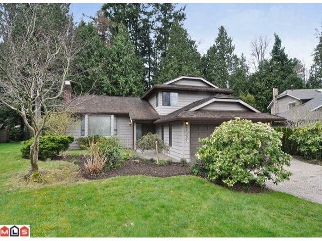 Photo 1: Photos: 2091 126TH Street in Surrey: Crescent Bch Ocean Pk. House for sale (South Surrey White Rock)  : MLS®# F1207412