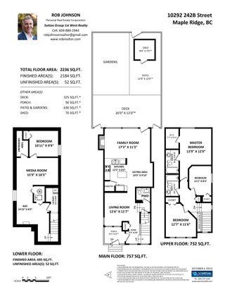 Photo 33: 10292 242B Street in Maple Ridge: Albion House for sale : MLS®# R2624156