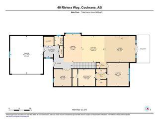Photo 3: 40 Riviera Way: Cochrane Row/Townhouse for sale : MLS®# A1060708