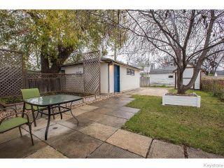 Photo 16: 965 Telfer Street in WINNIPEG: West End / Wolseley Residential for sale (West Winnipeg)  : MLS®# 1529015