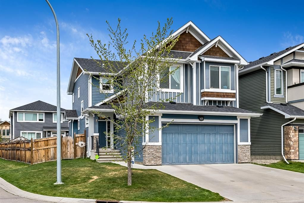 Main Photo: 43 Auburn Glen View SE in Calgary: Auburn Bay Detached for sale : MLS®# A1109361