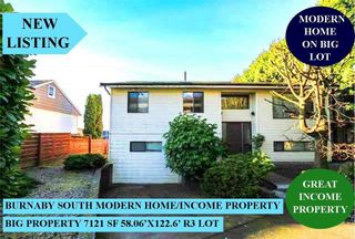 Photo 1: 6362 RUMBLE Street in Burnaby: South Slope House for sale (Burnaby South)  : MLS®# R2571165