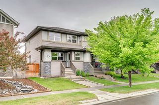 Photo 1: 217 CHAPARRAL VALLEY Drive SE in Calgary: Chaparral Semi Detached for sale : MLS®# A1119212