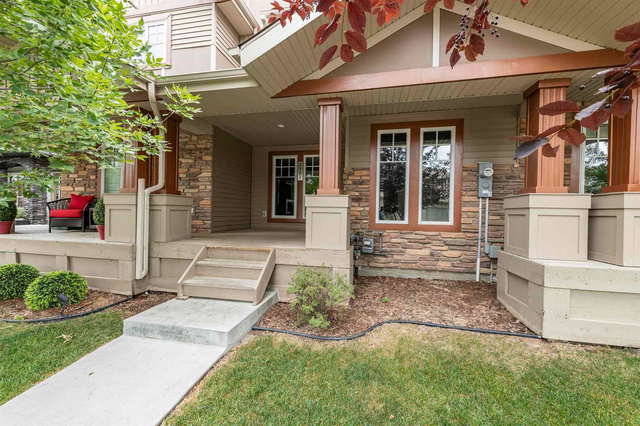Main Photo: 2127 AUSTIN Link in Edmonton: Zone 56 Attached Home for sale : MLS®# E4255544