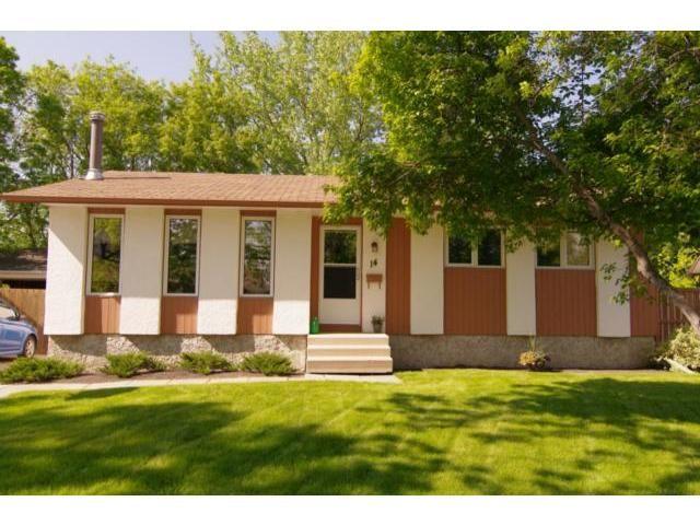 Main Photo: 14 Bergman Crescent in WINNIPEG: Charleswood Residential for sale (South Winnipeg)  : MLS®# 1111132
