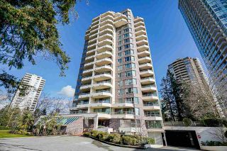 "Photo 1: 106 5790 PATTERSON Avenue in Burnaby: Metrotown Condo for sale in ""REGENT"" (Burnaby South)  : MLS®# R2540025"