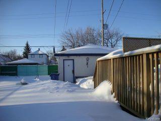 Photo 19: 880 REDWOOD Avenue in WINNIPEG: North End Residential for sale (North West Winnipeg)  : MLS®# 1402237