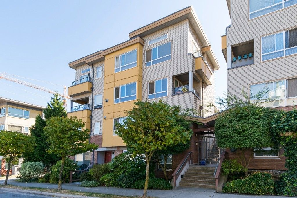 """Main Photo: 310 2688 WATSON Street in Vancouver: Mount Pleasant VE Townhouse for sale in """"Tala Vera"""" (Vancouver East)  : MLS®# R2100071"""