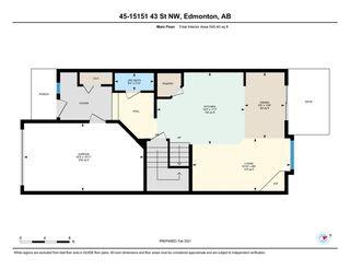 Photo 21: 45 15151 43 Street in Edmonton: Zone 02 House Half Duplex for sale : MLS®# E4228447