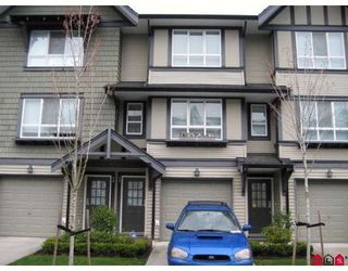 Photo 1: #77 6747 203RD ST in Langley: Townhouse for sale : MLS®# F2807461