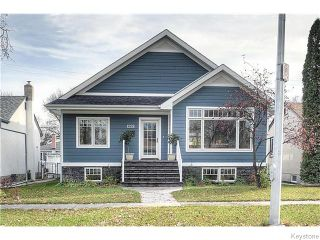 Photo 1: 1228 Fleet Avenue in Winnipeg: Crescentwood Single Family Detached for sale (1Bw)  : MLS®# 1627840