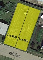 Main Photo: 4920 & 4924 59 Street in Innisfail: Dodds Lake Land for sale : MLS®# CA0184657