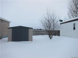 Photo 9: 41 Colorado Trailer Park in New Bothwell: Manitoba Other Residential for sale : MLS®# 1600283
