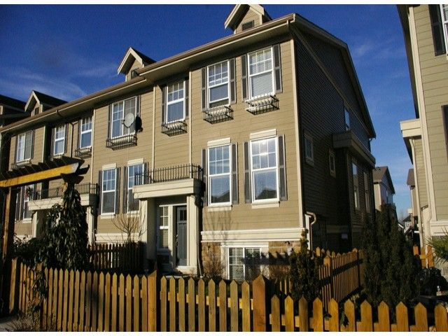 """Main Photo: 21139 80TH Avenue in Langley: Willoughby Heights Townhouse for sale in """"YORKVILLE"""" : MLS®# F1401445"""