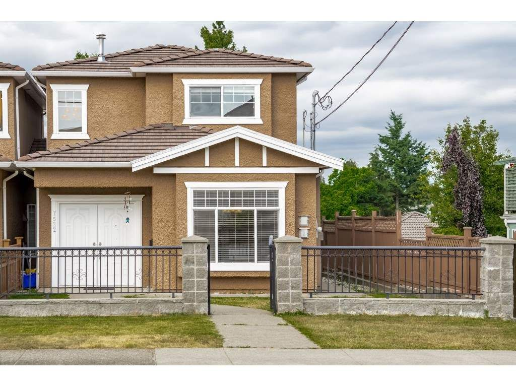 Main Photo: 7522 1ST Street in Burnaby: East Burnaby 1/2 Duplex for sale (Burnaby East)  : MLS®# R2381527