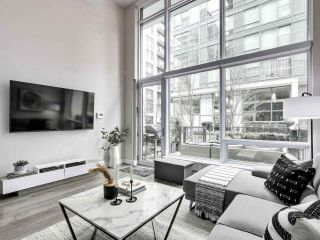 "Photo 1: 155 W 2ND Avenue in Vancouver: False Creek Townhouse for sale in ""Tower Green"" (Vancouver West)  : MLS®# R2539877"