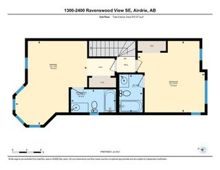 Photo 19: 1310 2400 Ravenswood View SE: Airdrie Row/Townhouse for sale : MLS®# A1131588