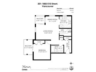 """Photo 28: 201 1883 E 10TH Avenue in Vancouver: Grandview Woodland Condo for sale in """"Royal Victoria"""" (Vancouver East)  : MLS®# R2541717"""