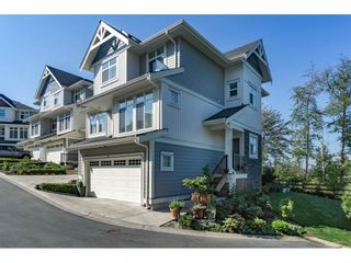 "Photo 1: 10 7198 179 Street in Surrey: Cloverdale BC Townhouse for sale in ""WALNUT RIDGE"" (Cloverdale)  : MLS®# R2199206"