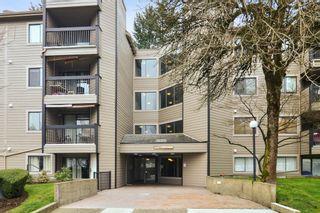 """Photo 1: 417 10530 154 Street in Surrey: Guildford Condo for sale in """"Creekside"""" (North Surrey)  : MLS®# R2546186"""