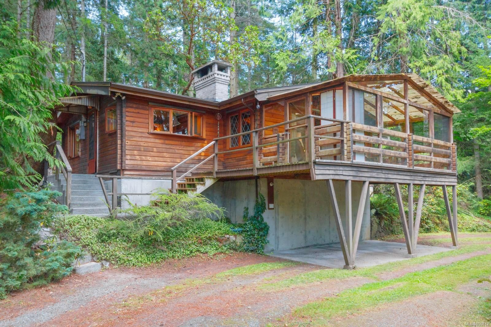 Main Photo: 2180 Curteis Rd in : NS Curteis Point House for sale (North Saanich)  : MLS®# 850812