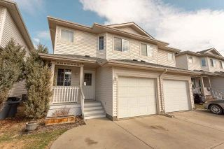 Photo 1: 23 16933 115 Street in Edmonton: Zone 27 House Half Duplex for sale : MLS®# E4239637