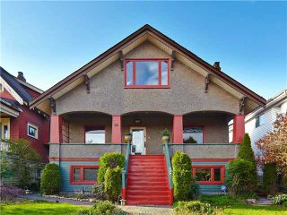 Photo 1: 2616 TRINITY ST in Vancouver: Hastings East House for sale (Vancouver East)  : MLS®# V1108073