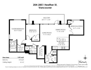 """Photo 22: 204 2851 HEATHER Street in Vancouver: Fairview VW Condo for sale in """"Tapestry"""" (Vancouver West)  : MLS®# R2495572"""
