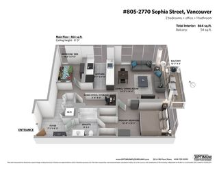 Photo 21: 805 2770 SOPHIA Street in Vancouver: Mount Pleasant VE Condo for sale (Vancouver East)  : MLS®# R2539112