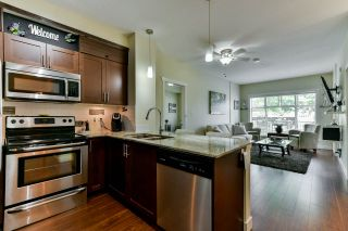 """Photo 3: 101 13468 KING GEORGE Boulevard in Surrey: Whalley Condo for sale in """"The Brooklands"""" (North Surrey)  : MLS®# R2281963"""