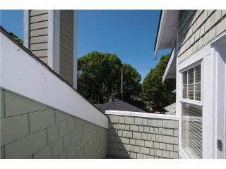Photo 13: 2587 W 6TH Avenue in Vancouver: Kitsilano Townhouse for sale (Vancouver West)  : MLS®# V1126140