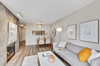"""Photo 4: 304 8450 JELLICOE Street in Vancouver: South Marine Condo for sale in """"Boardwalk"""" (Vancouver East)  : MLS®# R2615136"""