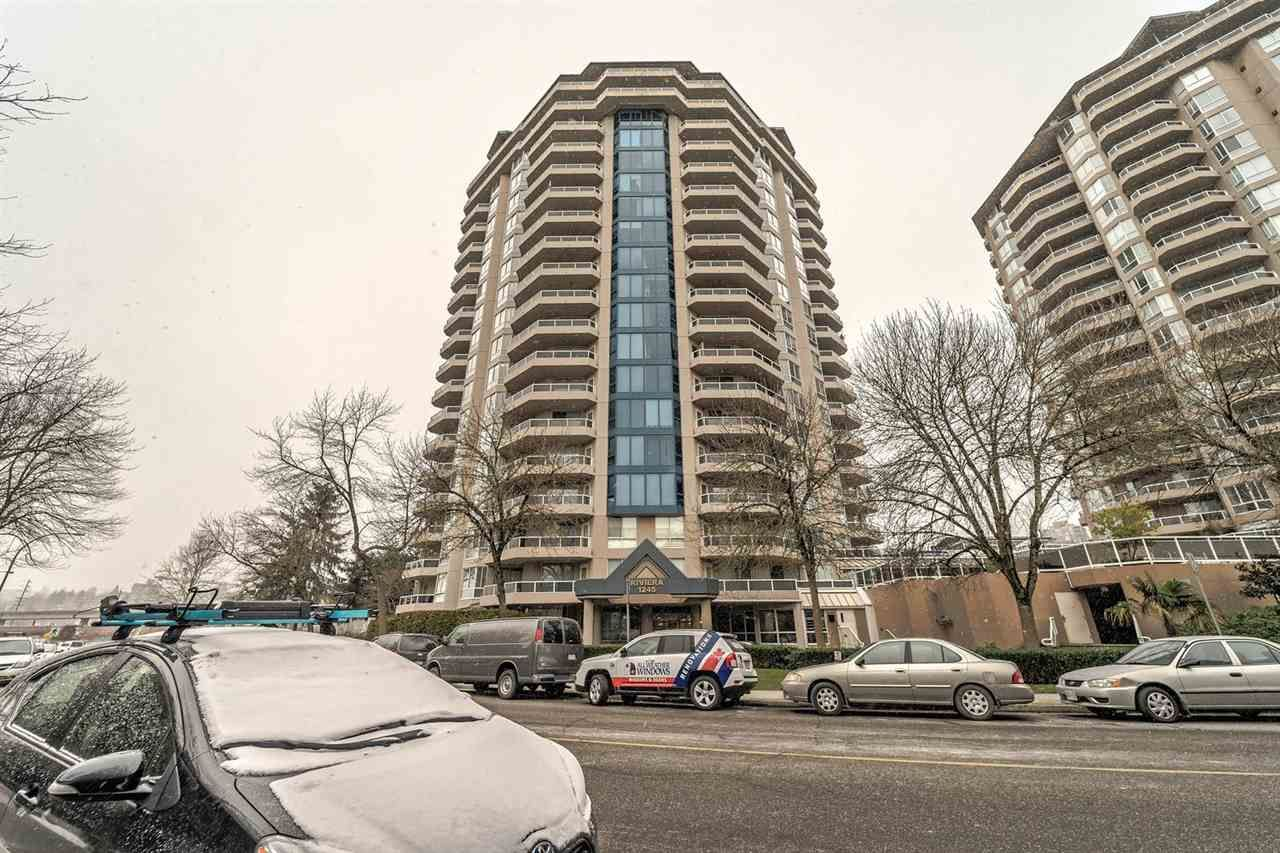 """Main Photo: 1805 1245 QUAYSIDE Drive in New Westminster: Quay Condo for sale in """"THE RIVIERA"""" : MLS®# R2243122"""