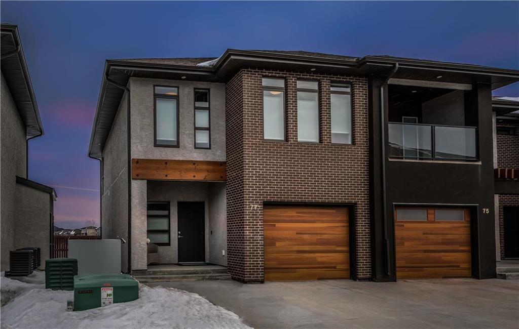 Main Photo: 77 340 John Angus Drive in Winnipeg: South Pointe Condominium for sale (1R)  : MLS®# 202004012
