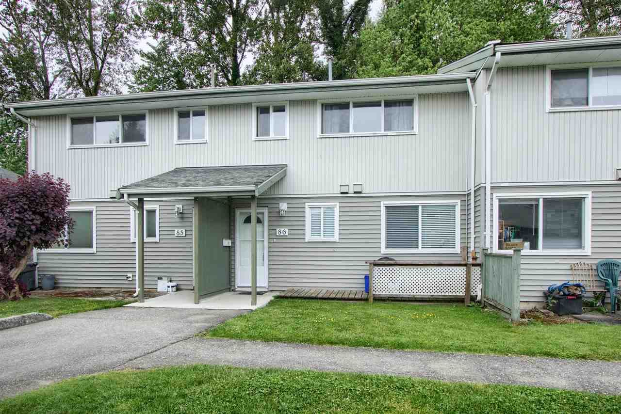 """Main Photo: 86 45185 WOLFE Road in Chilliwack: Chilliwack W Young-Well Townhouse for sale in """"TOWNSEND GREENS"""" : MLS®# R2585546"""