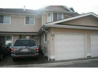 Photo 1: 4 10795 NO 2 Road in Richmond: Steveston North Townhouse for sale : MLS®# V848608