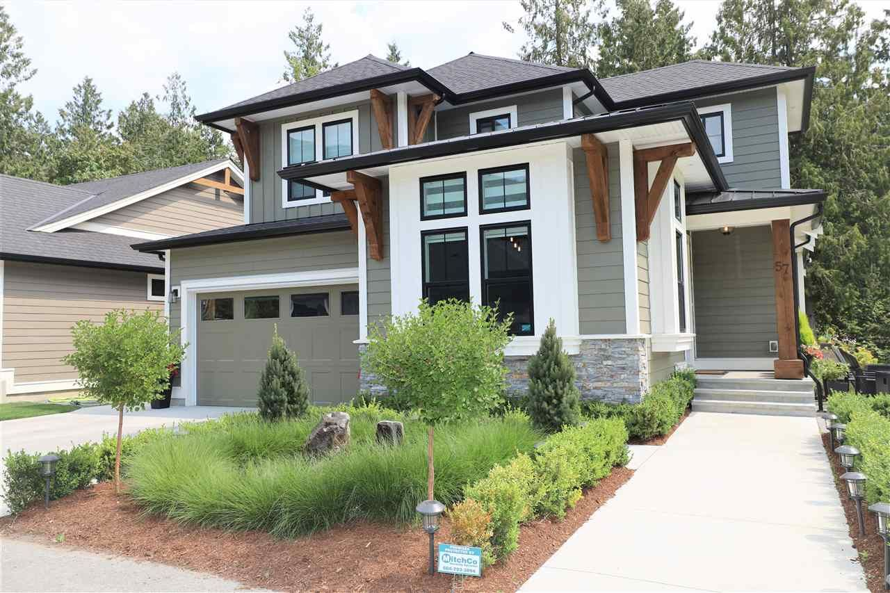 """Main Photo: 57 1885 COLUMBIA VALLEY Road in Cultus Lake: Lindell Beach House for sale in """"AQUADEL CROSSING"""" : MLS®# R2482079"""
