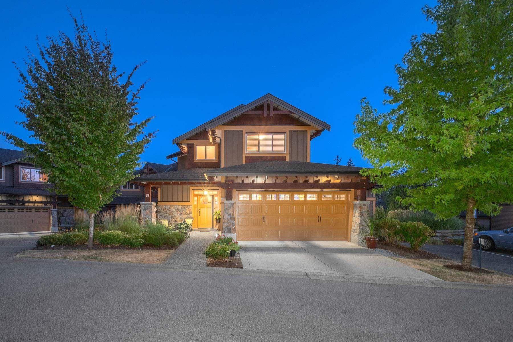 "Main Photo: 81 24185 106B Avenue in Maple Ridge: Albion Townhouse for sale in ""TRAILS EDGE"" : MLS®# R2607401"