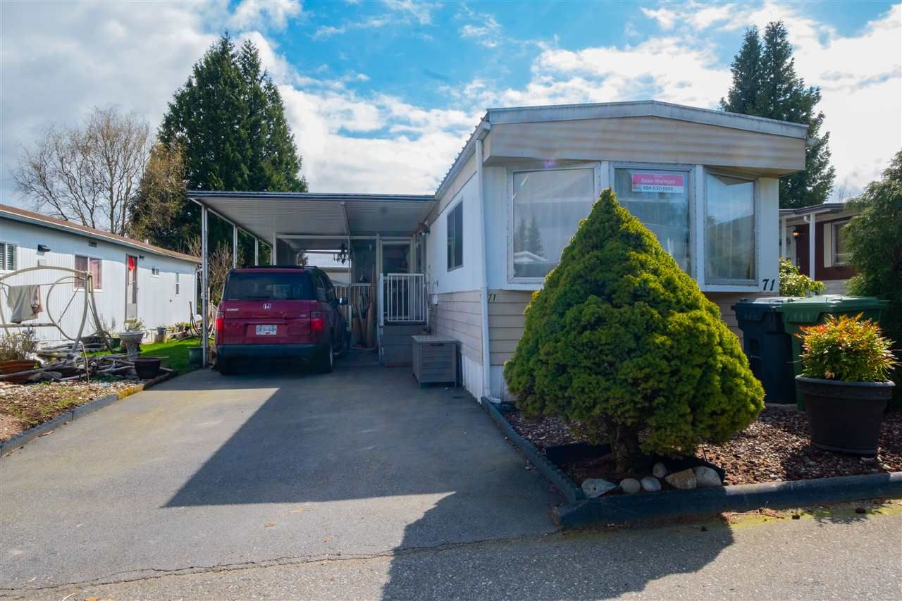 Main Photo: 71 1840 160 Street in Surrey: King George Corridor Manufactured Home for sale (South Surrey White Rock)  : MLS®# R2558094